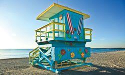 Filmreif. Blue-Lifeguard-Stand. / Bild: (c) Greater Miami Convention & Visitors Bureau gmcvb.com