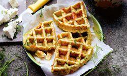 Zucchiniwaffeln / Bild: (c) Beigestellt