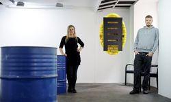 Noch sind die Wände weiß – bis zur ersten Vernissage am kommenden Mittwoch soll sich das ändern. Die Neo-Galeristen Agnieszka Gornikowska und Michael West in ihrer Urban Space Gallery im siebten Bezirk. / Bild: (c) Die Presse (Clemens Fabry)
