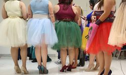 Models prepare for the Plus Size Fashion Weekend 2015 Summer Collection in Sao Paulo Brazil on Au