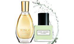 "Jung geblieben. ""Tosca"", 50 ml Eau de Toilette um 21 Euro. ""Splash Cucumber"" von Marc Jacobs, 100 ml Eau de Toilette um 55 Euro. / Bild: (c) Beigestellt"