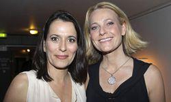 Anne Will und ihre Frau Miriam Meckela / Bild: imago stock&people