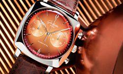 """Farbenpracht. Glashütte Original """"Sixties Iconic Tangerine"""". / Bild: (c) Beigestellt"""