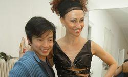La Hong mit Christina Lugner / Bild: (c) APA (HERBERT PFARRHOFER)