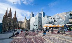 Federation Square in Melbourne / Bild: Imago