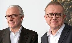 Freunde. Alain Ducasse und Kellermeister Richard Geoffroy kennen sich schon lange.  / Bild:  (c) Beigestellt