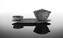 """Teeset """"Cula"""" von Olaf Nicolai für Nymphenburg. / Bild: (c) Beigestellt"""