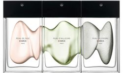 "Designerdüfte. ""Peau de soie"", ""Peau d'ailleurs"" und ""Peau de pierre"", 90 ml Eau de parfum um 130 Euro, etwa bei Kussmund.  / Bild: (c) beigestellt"
