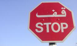 Stop! In Jordanien gebe es nur Heteros, meint Reiseführer Mustafa. / Bild: (c) Beigestellt