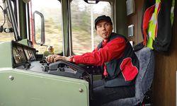 Lokführer Martin: auf der schwierigen Strecke die Ruhe in Person. / Bild: (c) Beigestellt
