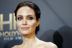 File photo of Angelina Jolie at the Hollywood Film Awards in Hollywood