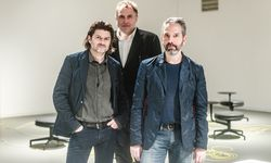 """Trio. """"EOOS transforms"""": Martin Bergmann, Gernot Bohmann und Harald Gründl. / Bild: (c) Christine Pichler"""