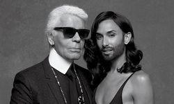 Karl Lagerfeld und Conchita Wurst / Bild: CRFashionBook.com