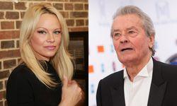 Pamela Anderson (l.) ersetzt Alain Delon (r.)  / Bild: Imago/APA