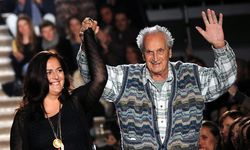 Ottavio Missoni mit seiner Tochter Angela / Bild: EPA