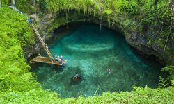 To Sua ocean trench in Upolu Samoa South Pacific Pacific PUBLICATIONxINxGERxSUIxAUTxONLY Copyrigh / Bild: (c) imago/robertharding (imago stock&people)