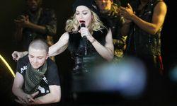 Madonna und Sohn Rocco  / Bild: Imago