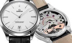 """Omega """"De Ville Trésor"""" im Weißgoldgehäuse, ausgestattet mit dem neuen """"Master-Co-Axial""""-Handaufzugkaliber """"8511"""" des Hauses. / Bild: (c) Omega"""