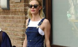 April 16 2015 New York City NY USA Actress Kate Bosworth leaving a downtown hotel on April 16