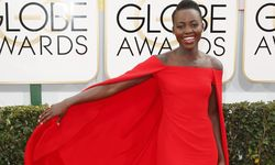 Actress Lupita Nyong´o arrives at the 71st annual Golden Globe Awards in Beverly Hills