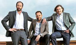 Graft Architekten. Wolfram Putz, Thomas Willemeit, Lars Krückeberg und 90 Mitarbeiter. / Bild: (c) Beigestellt
