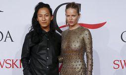 Alexander Wang und Model Anna Ewers / Bild: (c) REUTERS (LUCAS JACKSON)