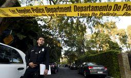 Vor Andrew Gettys Haus / Bild: Reuters