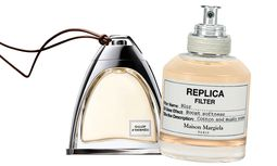 """Ausritt. """"Galop d'Hermès"""", 50 ml Parfum um 225 Euro. """"Replica Filter Blur"""", 50 ml Duftöl um 60 Euro. / Bild: (c) Beigestellt"""