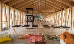 Pflicht. Der Slow-Food-Pavillon wurde von Herzog & de Meuron geplant, er soll an lombardische Bauernhöfe erinnern. Allein, was man hier über Mais erfährt, ist den Expo-Eintritt wert. / Bild: (c) Beigestellt