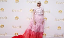 Lena Dunham from the HBO series ´Girls´ arrives at the 66th Primetime Emmy Awards in Los Angeles / Bild: (c) REUTERS (LUCY NICHOLSON)