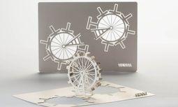 Selbstbau. Der Designer Hector Serrano entwickelte Minibausätze für Sehenswürdigkeiten. / Bild: (c) Rainer Fehringer