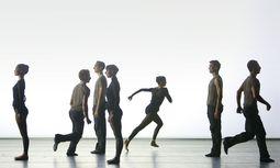 """""""Unitxt"""". Wie in einem Energiestrom bebt das Theater in Richard Siegals Kreation. / Bild: (c) Bayerisches Staatsballett/Wilfried Hösl"""
