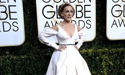 Sarah Jessica Parker attends the 74th annual Golden Globe Awards at the Beverly Hilton Hotel in Beve / Bild: (c) imago/UPI Photo (imago stock&people)