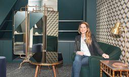 Gekürt. Dorothée Meilichzon,   Maison-&-Objet-Designerin des Jahres, im Hotel Pigalle. / Bild: (c) Jo Pesendorfer