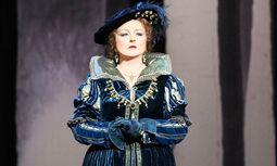 Edita Gruberová.  Premiere als Anna Bolena (9.10.). / Bild: (c) Beigestellt