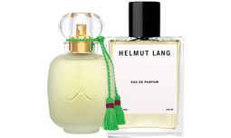 """Nostalgie. """"Un Zest de Rose"""" der Parfums de Rosine (115Euro bei Kussmund, Habsburgergasse 14, 1010 Wien), """"Helmut Lang Eau de Parfum"""" von Helmut Lang (160 Euro). / Bild: (c) Beigestellt"""