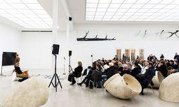 Secession: Gespräche mit zeitgenössischen Künstlern zur Vertiefung des Verständnisses. / Bild: Isabelle Rindler
