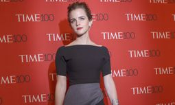 Actress Emma Watson arrives for the TIME 100 Gala in New York