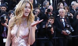 Model Doutzen Kroes poses on the red carpet for the screening of the film 'Le Passe' in competition during the 66th Cannes Film Festival in Cannes / Bild: (c) REUTERS (YVES HERMAN)