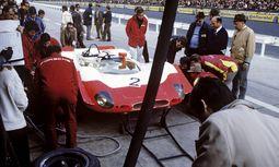 Rot-weiß: Porsche 908 im Jahr 1969.  / Bild: (c) Beigestellt
