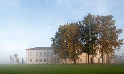Traumkulisse. In einer historischen Villa ist die Bottega-Veneta-Werkstatt angesiedelt. / Bild: (c) Beigestellt