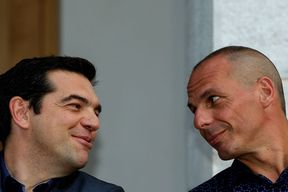 the new Greek Minister of Finance Yanis Varoufakis the new Greek Minister of Finance Yanis Varoufaki