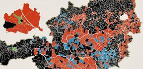 Nationalratswahl - Gemeindeergebnisse / Bild: (c) APA