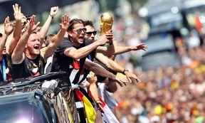 World Cup 2014 - Empfang Nationalmannschaft