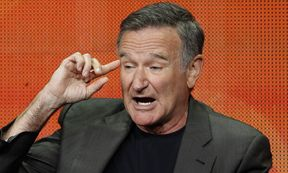File photo of Robin Williams during the CBS portion of the Television Critics Association Summer press tour in Beverly Hills