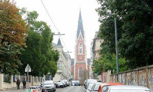 Archivbild: Die Argentinierstraße in Wien-Wieden, im Hintergrund die Elisabethkirche am St.-Elisabeth-Platz  / Bild: Clemens Fabry / Die Presse