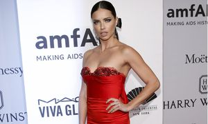 Model Adriana Lima attends the 2016 amfAR New York Gala at Cipriani Wall Street in Manhattan, New York. / Bild: (c) REUTERS (ANDREW KELLY)
