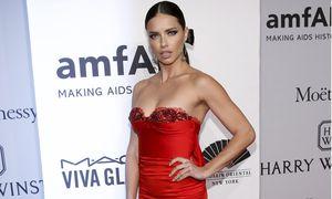 Model Adriana Lima attends the 2016 amfAR New York Gala at Cipriani Wall Street in Manhattan, New York. / Bild: (c) REUTERS (ANDREW KELLY)