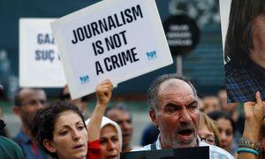 Proteste für die türkische Medienfreiheit im Juni 2016 / Bild: Reuters