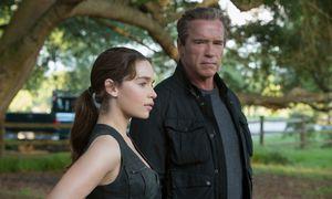 Emilia Clarke/ Schwarzenegger / Bild: (c) Pramount Pictures/ Melinda Sue Gordon